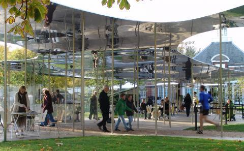 sanaa serpentine gallery 2009